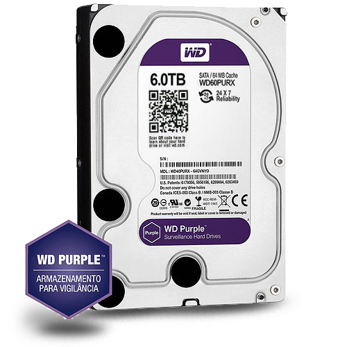 6TB WD - WESTERN DIGITAL